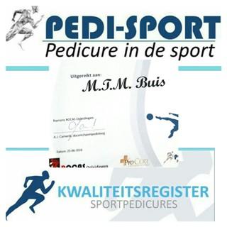 Sportpedicure Monique Buis